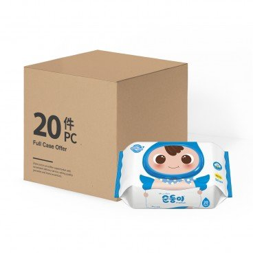 SOONDOONGI - Fragrance Free Premium Baby Wipes Case - 20'SX20