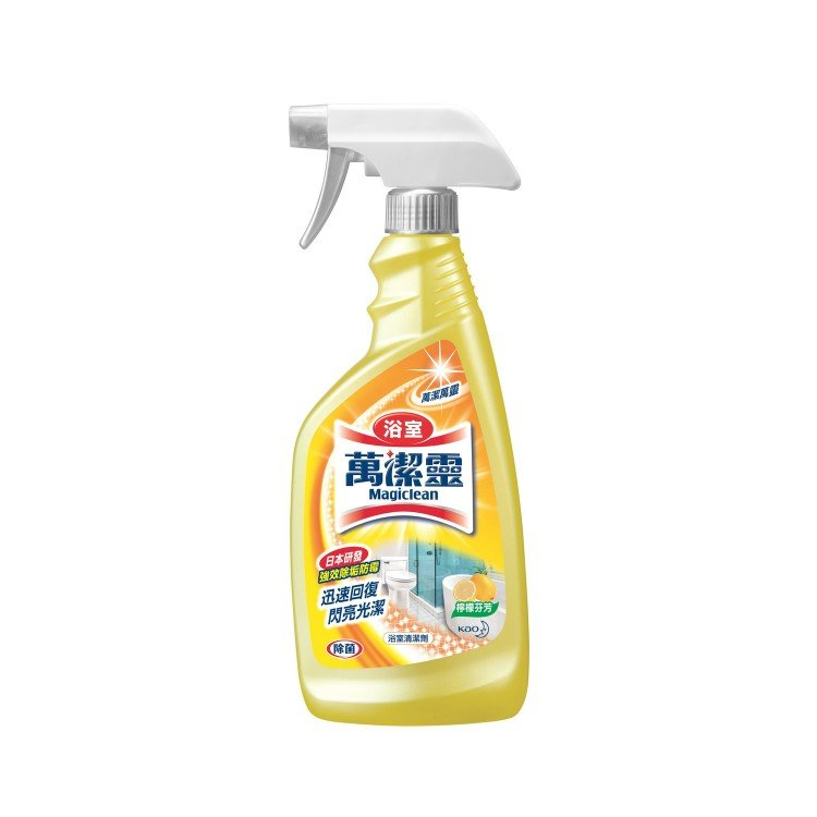 KAO MAGICLEAN - BATHROOM CLEANER TRIGGER-LEMON - 500ML