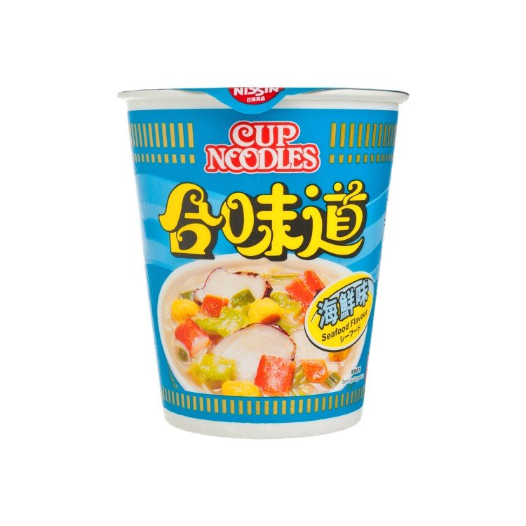NISSIN - CUP NOODLE-SEAFOOD - 75G