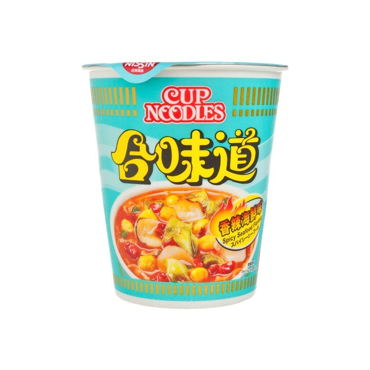 NISSIN - CUP NOODLE-SPICY SEAFOOD - 75G