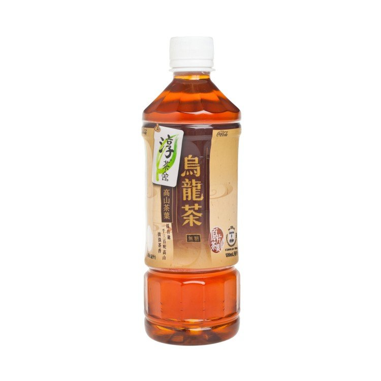 AUTHENTIC TEA HOUSE - OOLONG TEA-NO SUGAR - 500ML