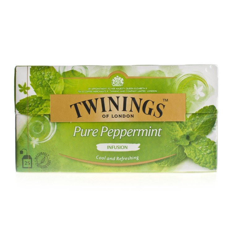 TWININGS - PEPPERMINT INFUSION - 25'S