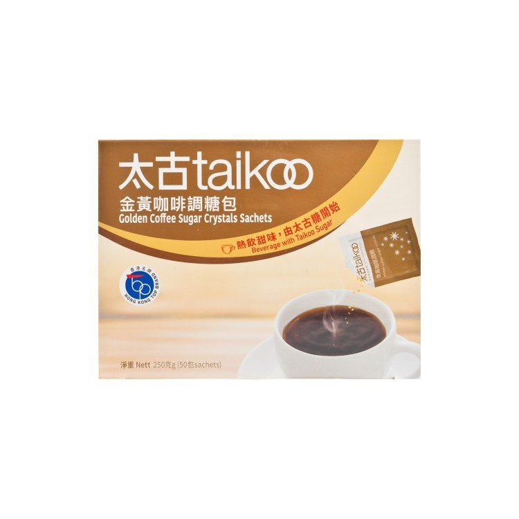 TAI KOO - COFFEE SUGAR SACHET - 50'S