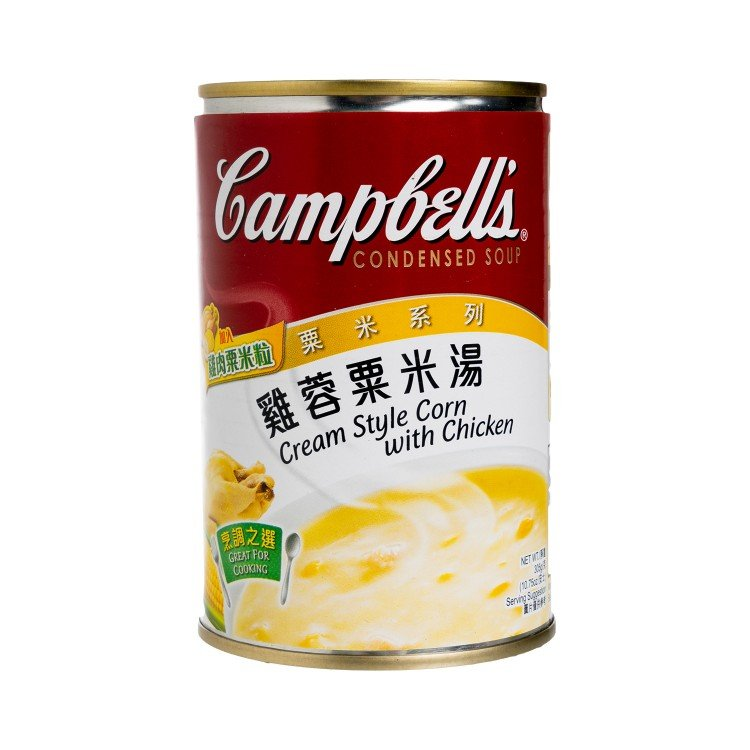 CAMPBELL'S - CREAM STYLE CORN WITH CHICKEN SOUP - 310G