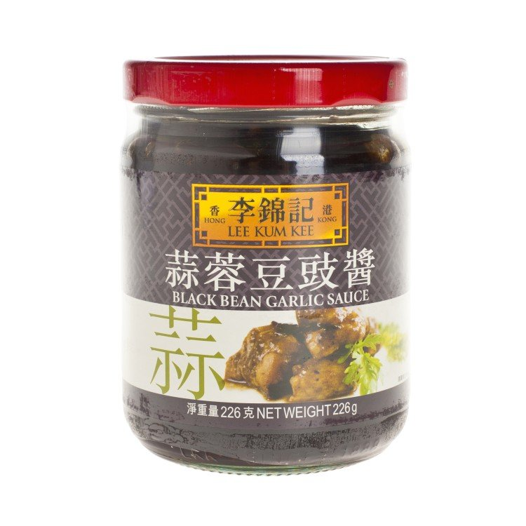 LEE KUM KEE - BLACK BEAN & GARLIC SAUCE - 226G