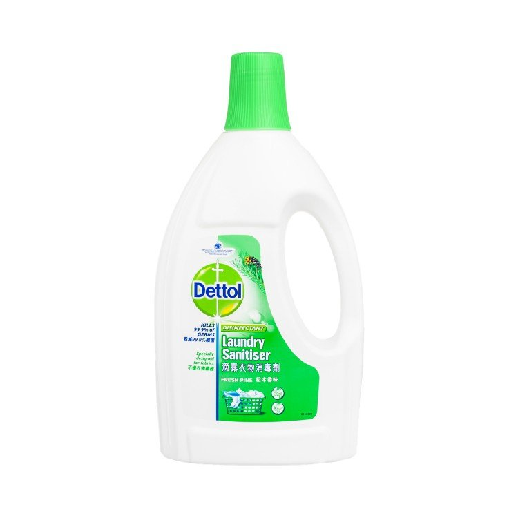 DETTOL - LAUNDRY SANITIZER-FRESH PINE - 1.2L