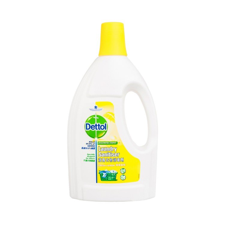 DETTOL - LAUNDRY SANITISER-FRESH LEMON - 1.2L