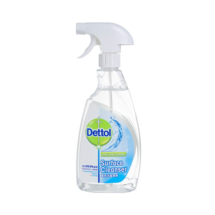 DETTOL - ANTI-BACTERIAL SURFACE CLEANSER - 500ML