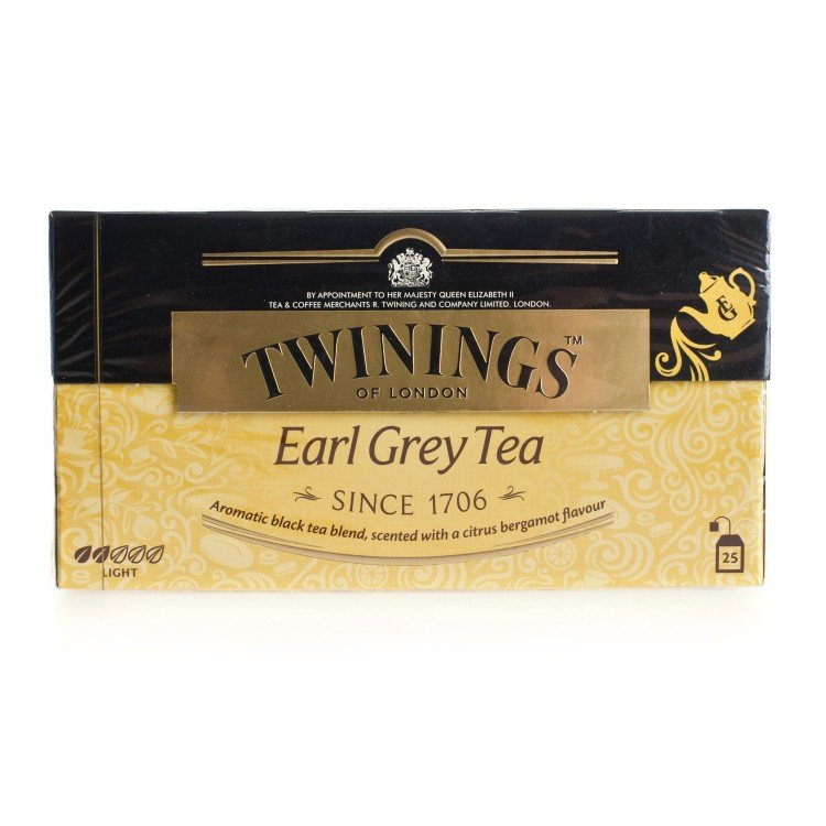 TWININGS - EARL GREY TEA - 25'S