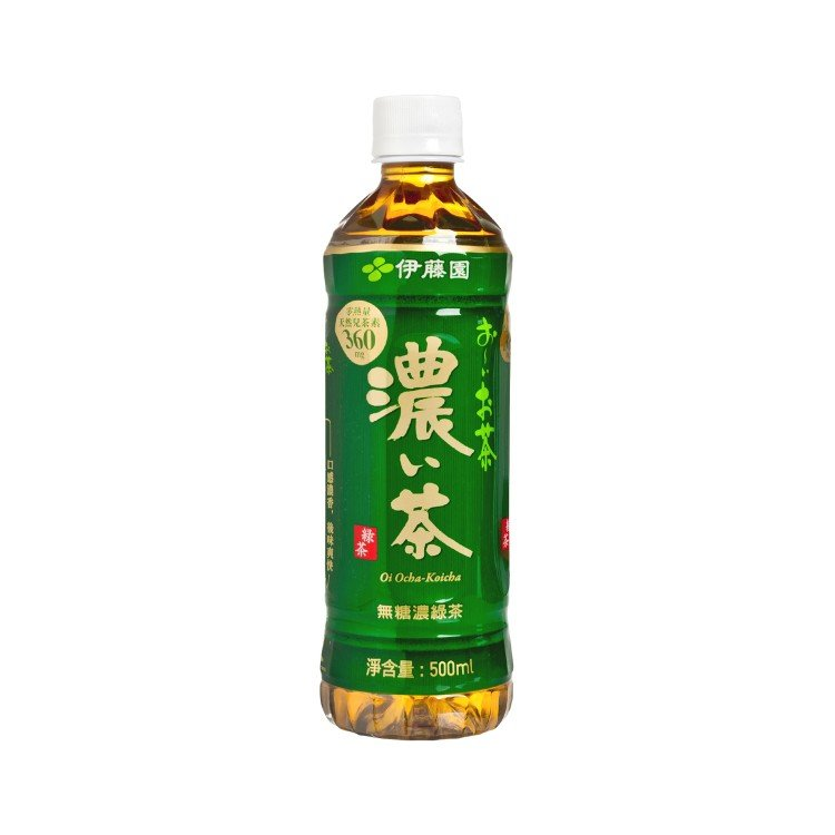 ITOEN - DARK GREEN TEA - 500ML