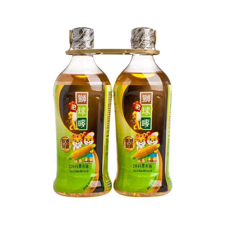 LION & GLOBE - DHA CORN OIL - 900MLX2