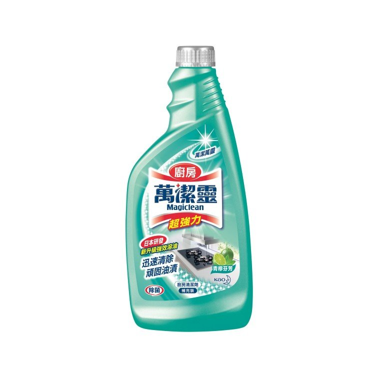 KAO MAGICLEAN - KITCHEN CLEANER REFILL-LIME - 500ML