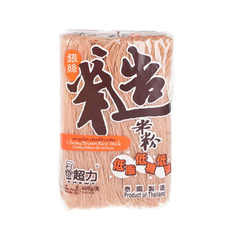 CHEWY - BROWN RICE STICK - 400G