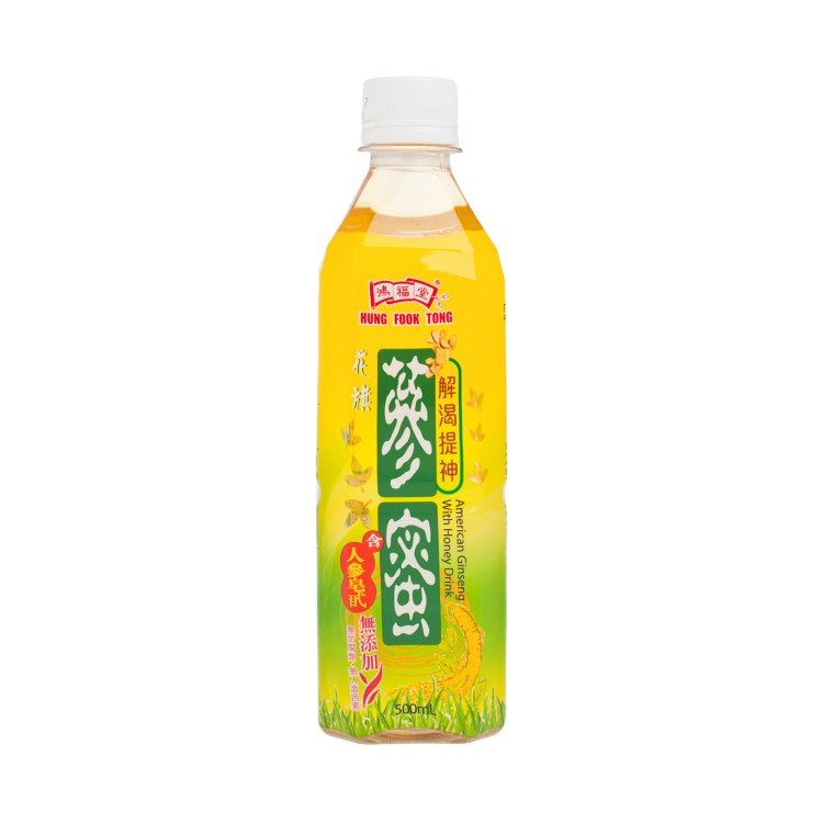 HUNG FOOK TONG - AMERICAN GINSENG WITH HONEY DRINK - 500ML