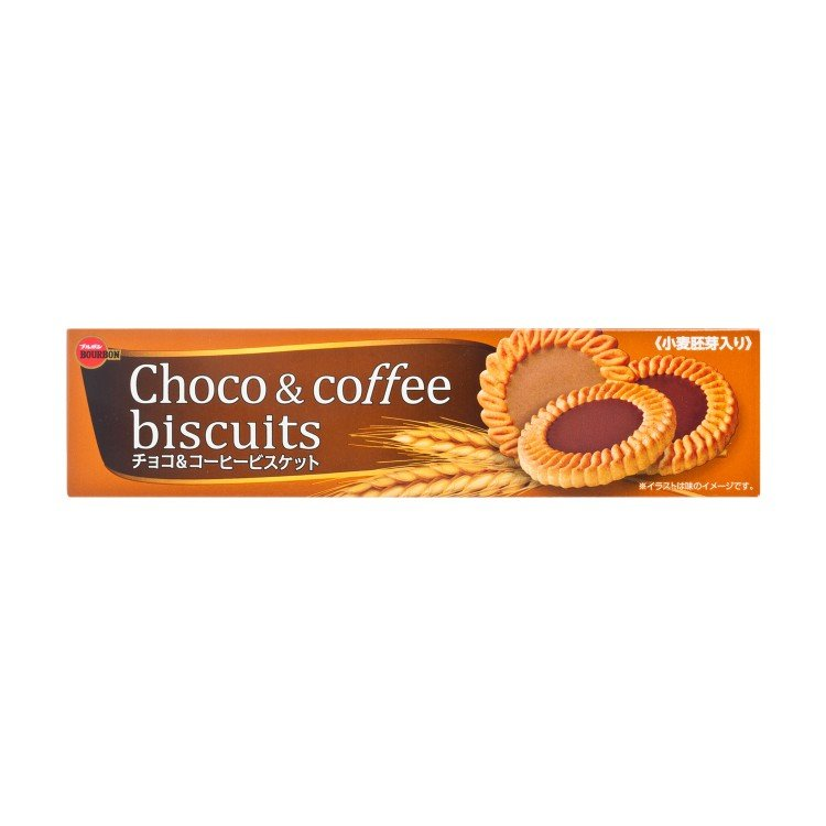 BOURBON - CHOCO & COFFEE BISCUIT - 108G