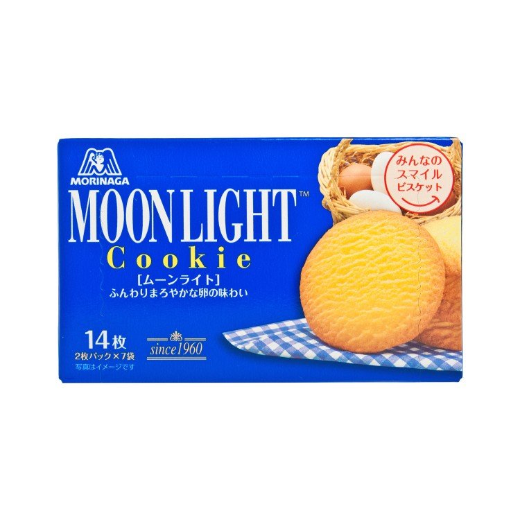 MORINAGA - MOON LIGHT BISCUIT - 113.4G