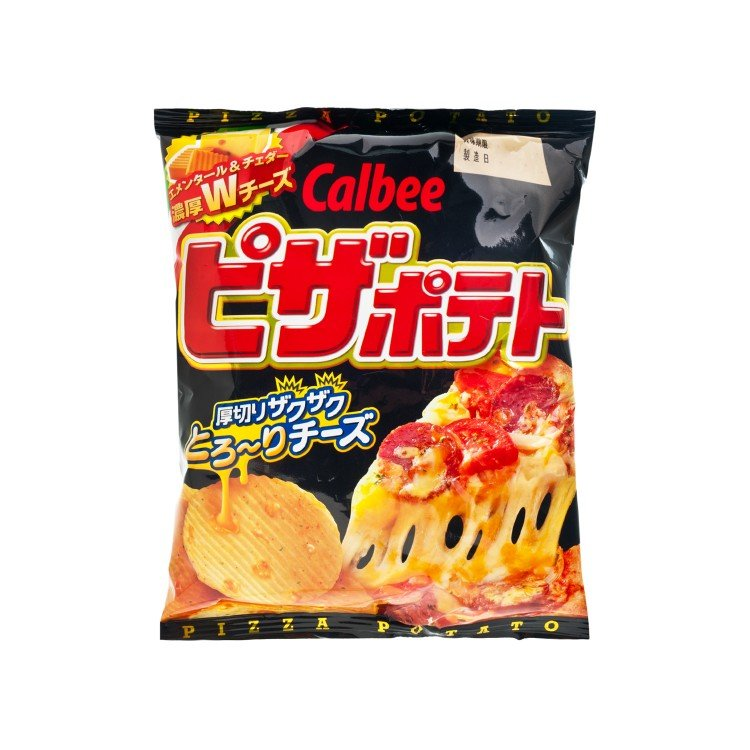 CALBEE - PIZZA CHIPS - 63G