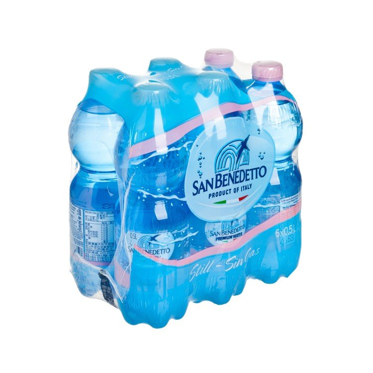 SAN BENEDETTO - NATUAL MINERAL WATER - 500MLX6