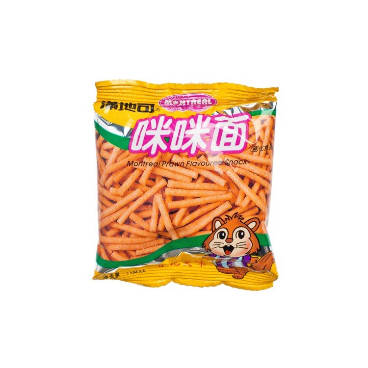 MONTREA - PRAWN FLAVOURED SNACK - 15G
