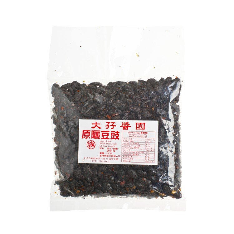 TAI MA - CHILI BLACK BEAN - 150G