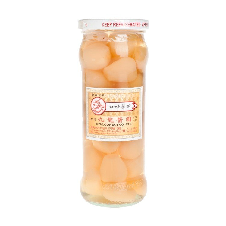 KOWLOON SAUCE CO. - PICKLED SHALLOTS - 475G
