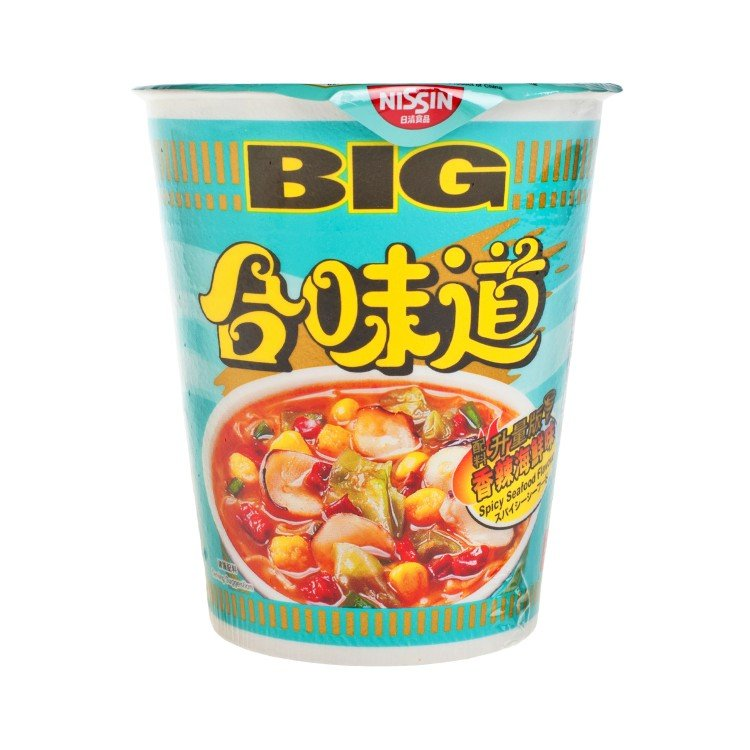 NISSIN - BIG CUP NOODLE-SPICY SEAFOOD - 103G