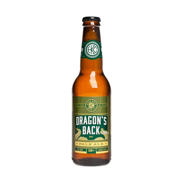 HONG KONG BEER - DRAGON'S BACK-PALE ALE - 330ML