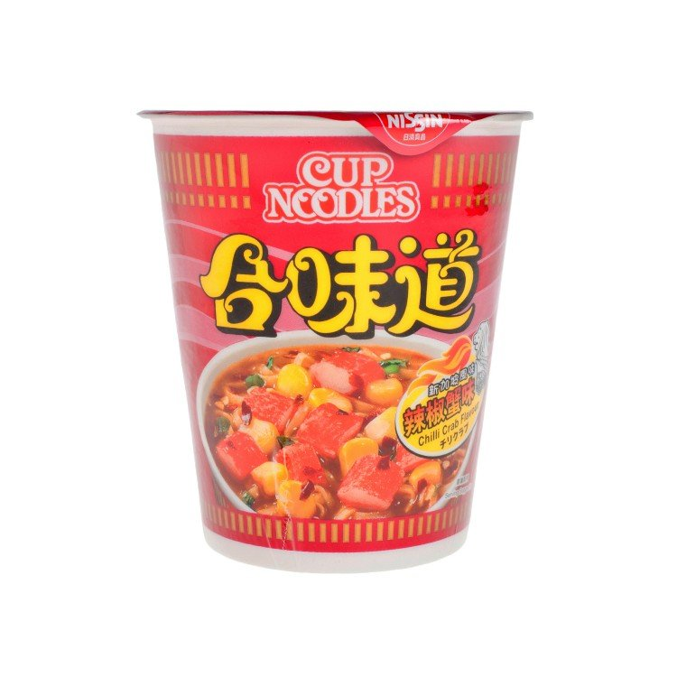 NISSIN - CUP NOODLE-CHILLI CRAB - 75G