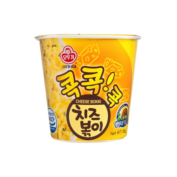 OTTOGI - CUP NOODLE-CHEESE BOKKI - 55G