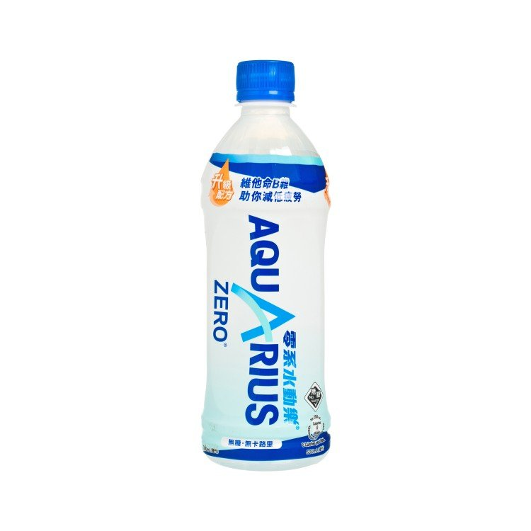 AQUARIUS - ZERO ELECTROLYTES REPLENISH DRINK - 500ML