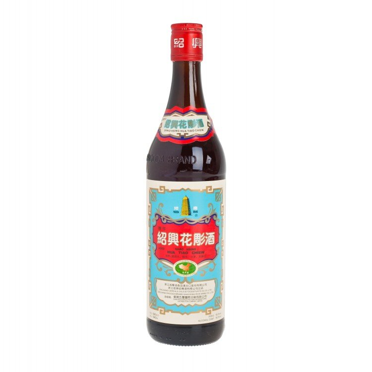PAGODA - SHAO XING RICE WINE HUA DAIO - 640ML