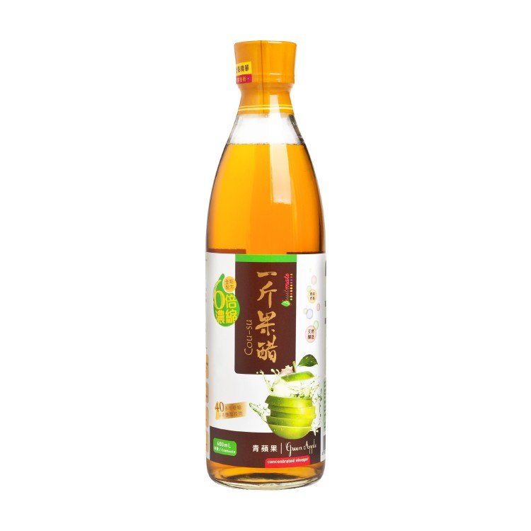 COU-SU - GREEN APPLE VINEGAR - 600ML