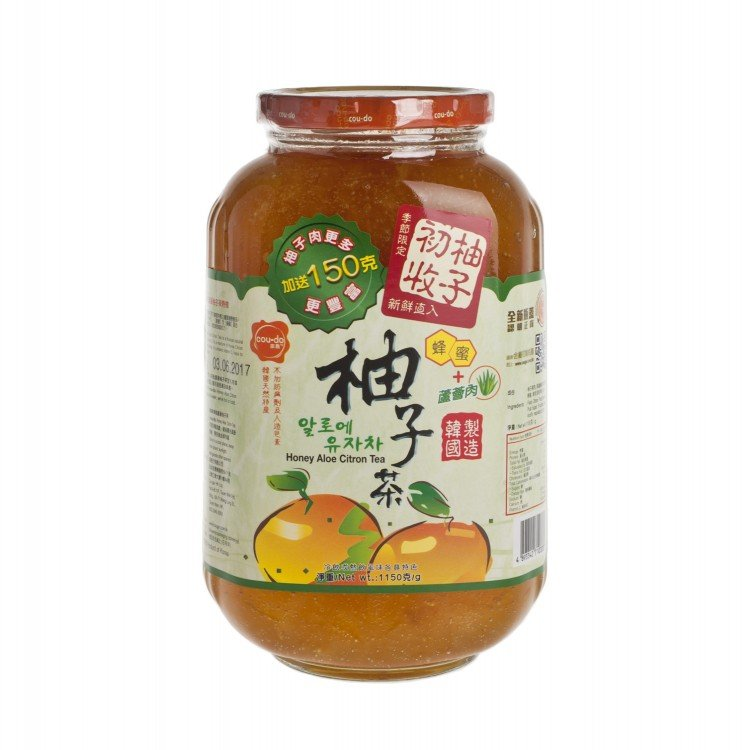 COUDO - HONEY CITRON TEA-WITH ALOE - 1150G