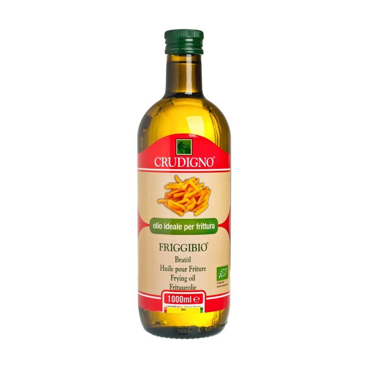CRUDIGNO - ORGANIC HIGH TEMP COOKING OIL - 1L