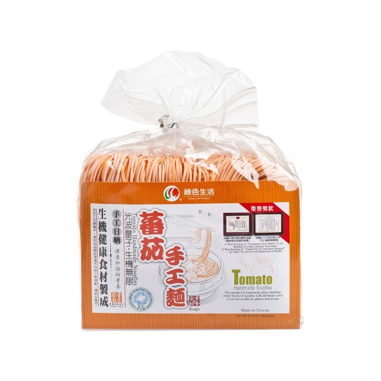 GREEN LIFE PRODUCT - TOMATO HANDMADE NOODLE - 600G