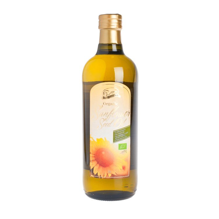 PRIMO - ORGANIC SUNFLOWER SEED OIL - 1L