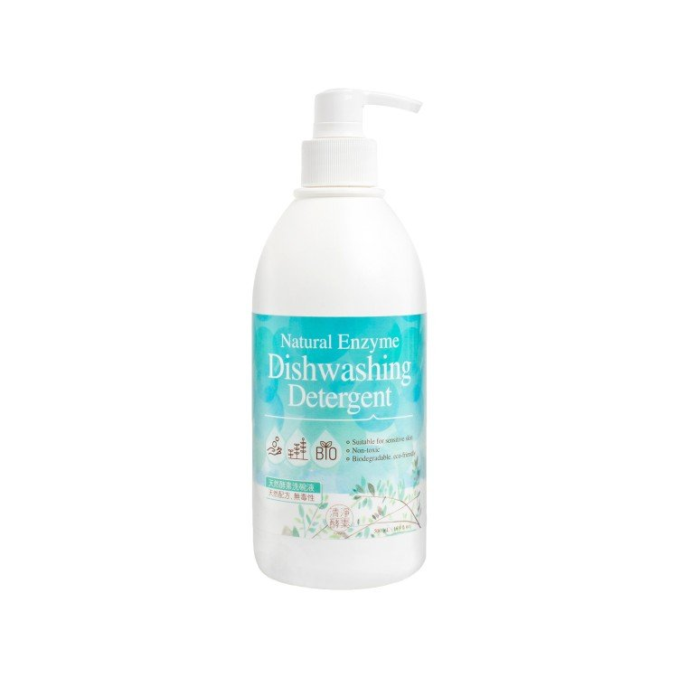 NATURAL ENZYME - NATURAL ENZYME DISHWASHING DETERGENT - 500ML