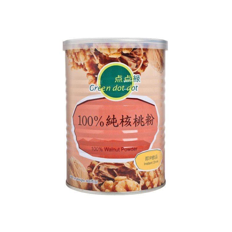 GREEN DOT DOT - 100% WALNUT POWDER - 400G