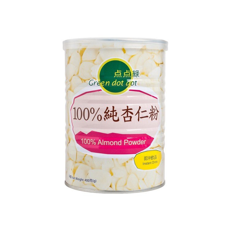 GREEN DOT DOT - 100% ALMOND POWDER - 400G