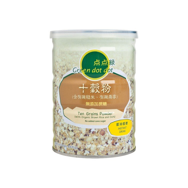 GREEN DOT DOT - TEN GRAINS POWDER - 400G