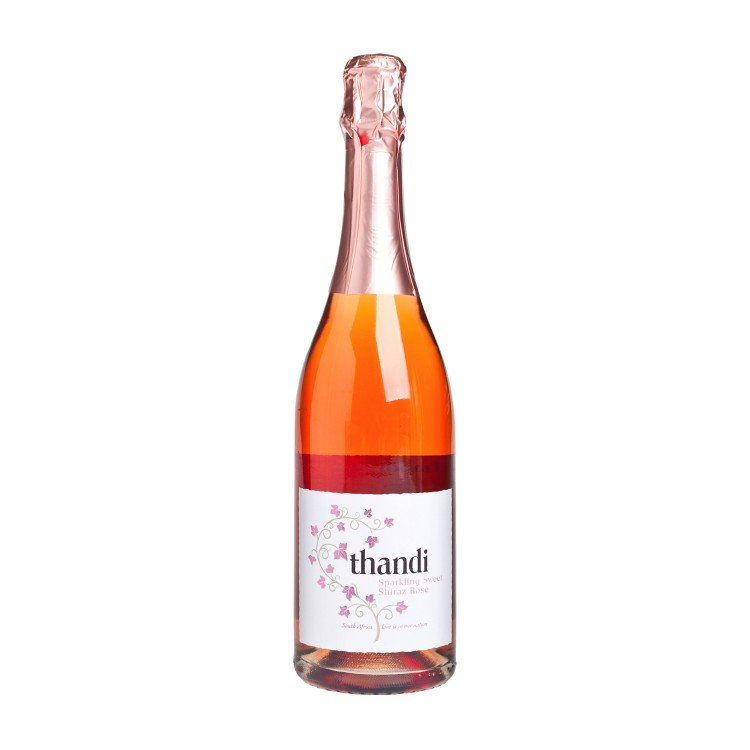 THANDI - SHIRAZ ROSE SPARKLING WINE - 750ML