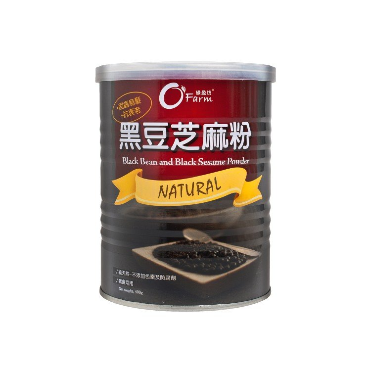 O'FARM - BLACK BEAN SASEME POWDER - 400G