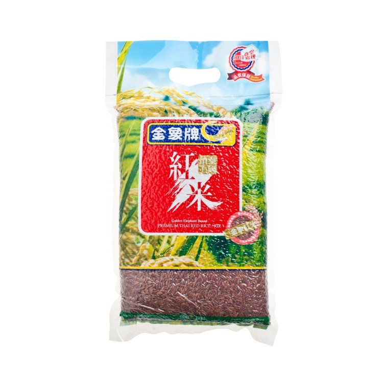 GOLDEN ELEPHANT - PREMIUM THAI RED RICE - 2KG