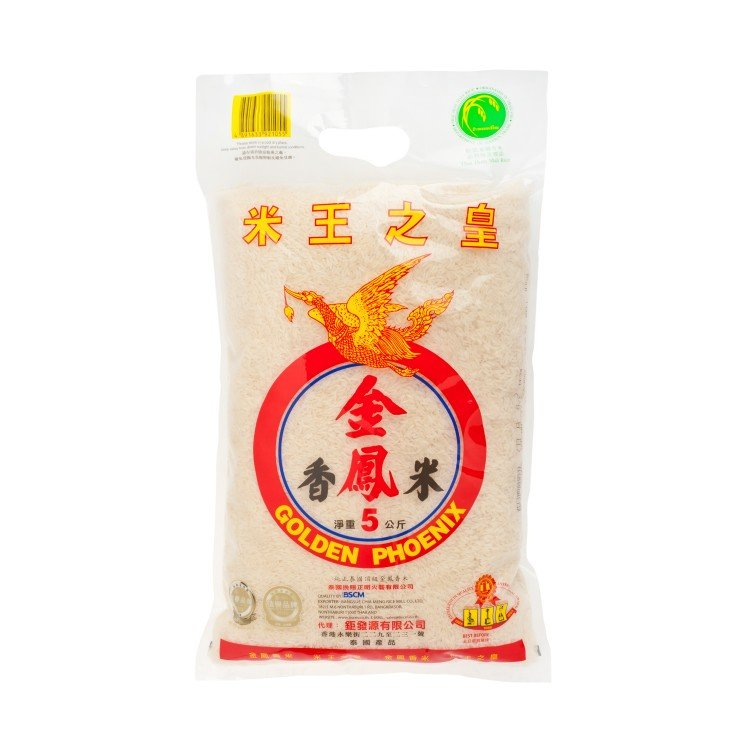 GOLDEN PHOENIX - THAI HOM MALI FRAGRANT RICE (KFY) - 5KG