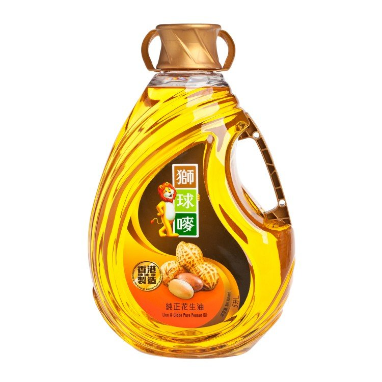 LION & GLOBE - PEANUT OIL - 5L