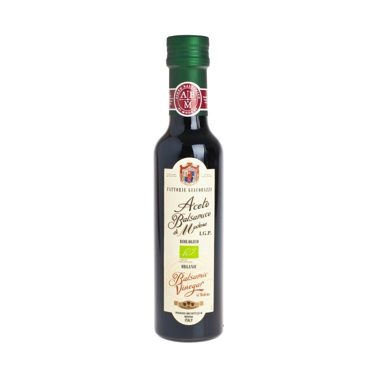 FATTORIE GIACOBAZZI - ORGANIC BALSAMIC VINEGAR OF MODENA-3LEAVE - 250ML