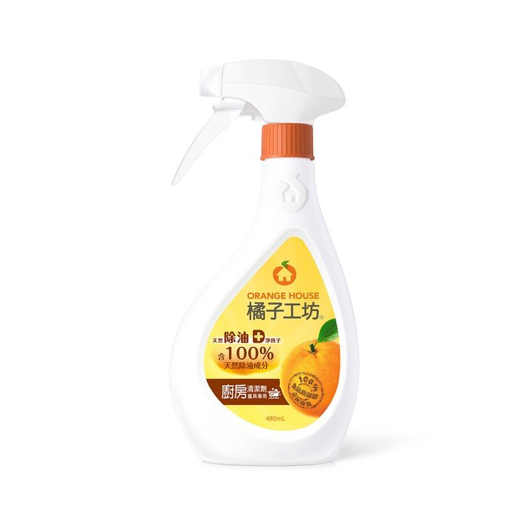 ORANGE HOUSE - KITCHEN & OVEN CLEANER - 480ML