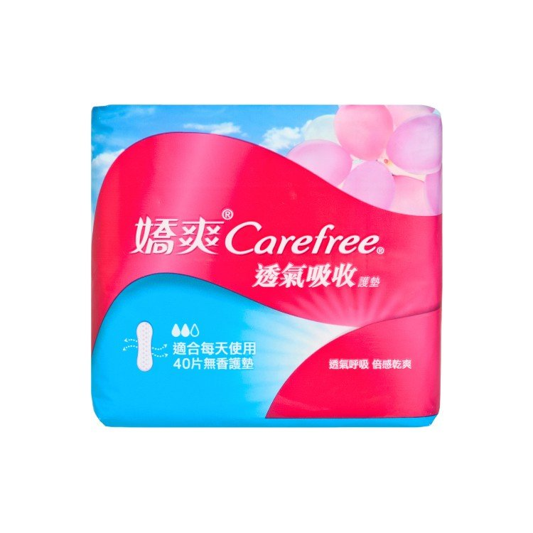 CAREFREE - BREATHABLE ABSORB PANTILINER - 40'S