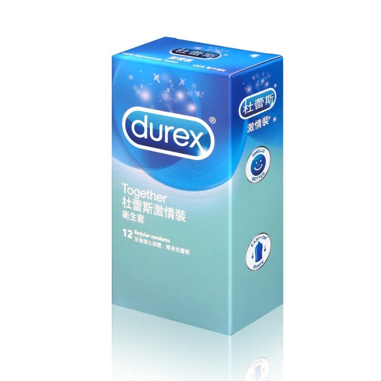 DUREX - TOGETHER CONDOM - 12'S