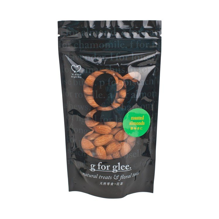 GLEE - ROASTED ALMONDS - 100G